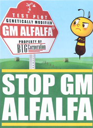 CLICK for more information on Stop Monsanto