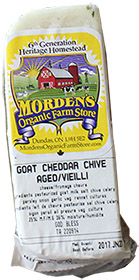 Goat Cheddar Chive